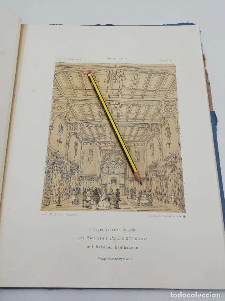 Libros antiguos: L´ARCHITECTURE ALLEMANDE AU XIX SIECLE. RECUELL DE MASIONS DE VILLE ET DE CAMPAGNE. 9 TOMOS.VER.LEER - Foto 145 - 267903714