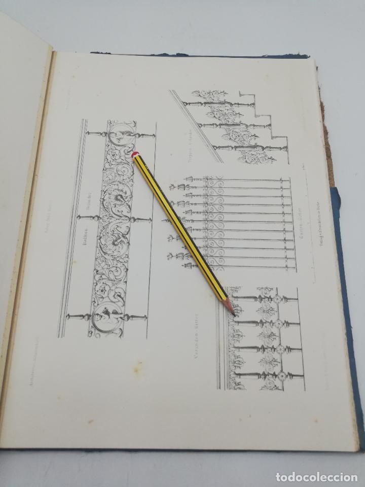 Libros antiguos: L´ARCHITECTURE ALLEMANDE AU XIX SIECLE. RECUELL DE MASIONS DE VILLE ET DE CAMPAGNE. 9 TOMOS.VER.LEER - Foto 149 - 267903714