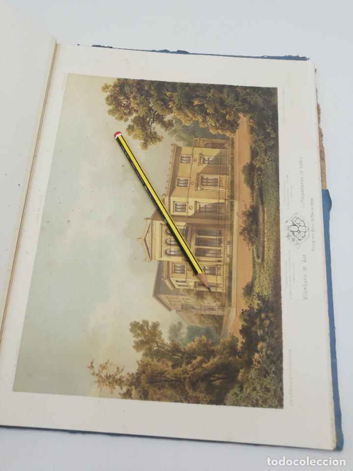 Libros antiguos: L´ARCHITECTURE ALLEMANDE AU XIX SIECLE. RECUELL DE MASIONS DE VILLE ET DE CAMPAGNE. 9 TOMOS.VER.LEER - Foto 150 - 267903714