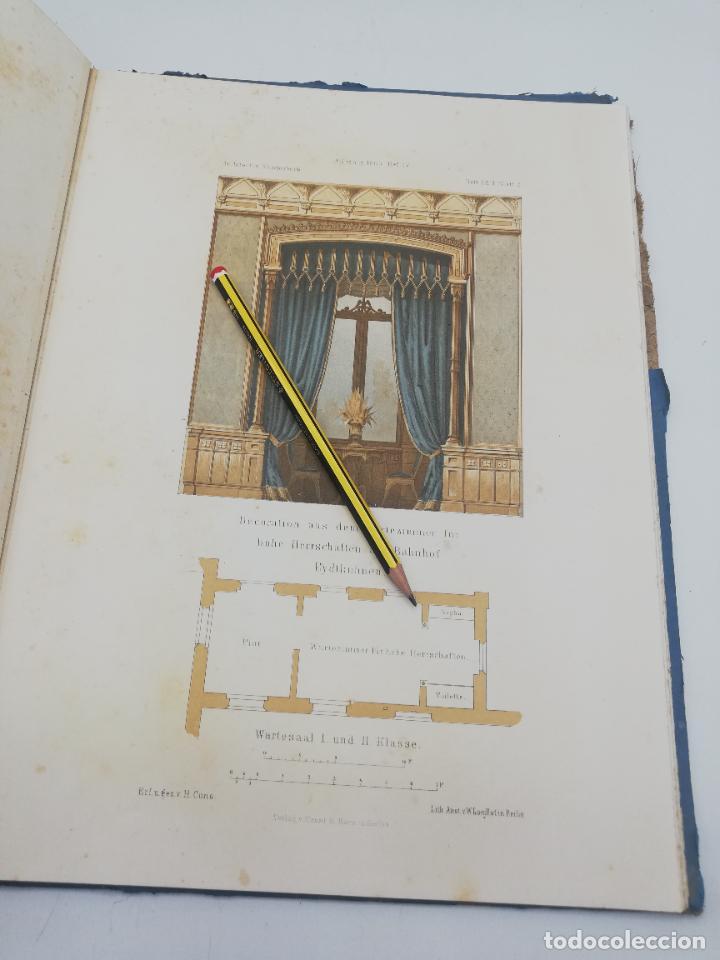 Libros antiguos: L´ARCHITECTURE ALLEMANDE AU XIX SIECLE. RECUELL DE MASIONS DE VILLE ET DE CAMPAGNE. 9 TOMOS.VER.LEER - Foto 151 - 267903714