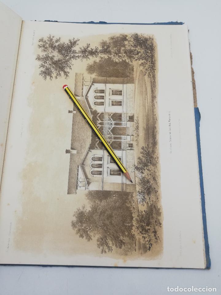 Libros antiguos: L´ARCHITECTURE ALLEMANDE AU XIX SIECLE. RECUELL DE MASIONS DE VILLE ET DE CAMPAGNE. 9 TOMOS.VER.LEER - Foto 152 - 267903714