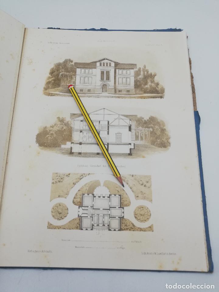 Libros antiguos: L´ARCHITECTURE ALLEMANDE AU XIX SIECLE. RECUELL DE MASIONS DE VILLE ET DE CAMPAGNE. 9 TOMOS.VER.LEER - Foto 153 - 267903714