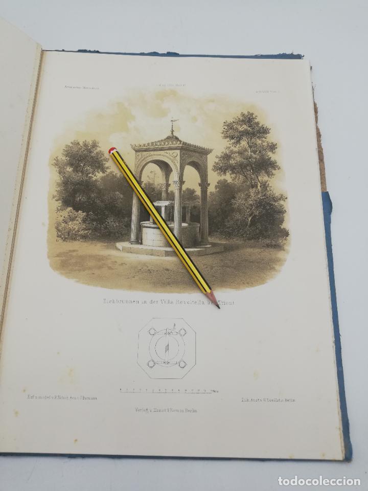 Libros antiguos: L´ARCHITECTURE ALLEMANDE AU XIX SIECLE. RECUELL DE MASIONS DE VILLE ET DE CAMPAGNE. 9 TOMOS.VER.LEER - Foto 154 - 267903714