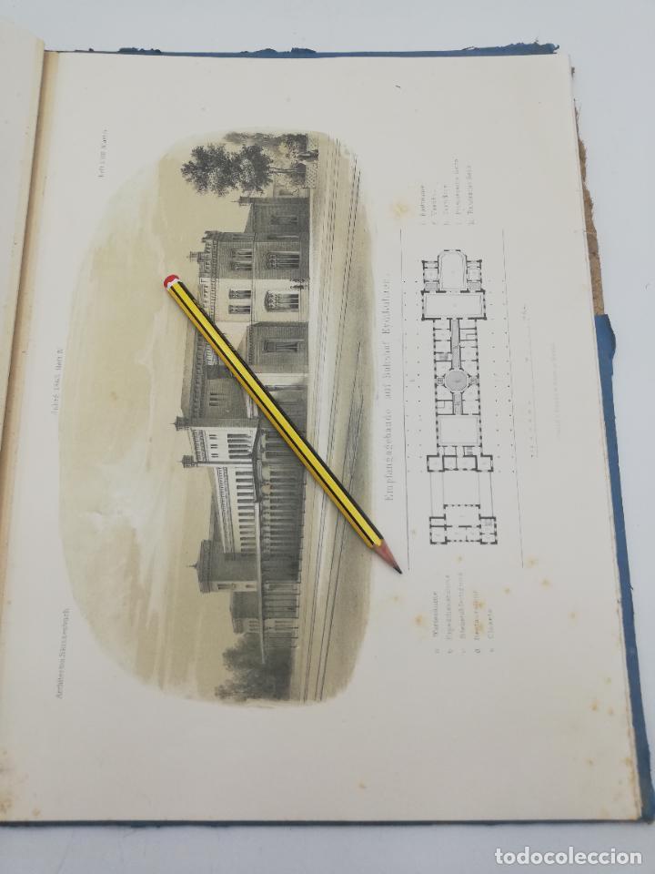 Libros antiguos: L´ARCHITECTURE ALLEMANDE AU XIX SIECLE. RECUELL DE MASIONS DE VILLE ET DE CAMPAGNE. 9 TOMOS.VER.LEER - Foto 155 - 267903714