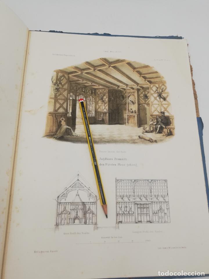 Libros antiguos: L´ARCHITECTURE ALLEMANDE AU XIX SIECLE. RECUELL DE MASIONS DE VILLE ET DE CAMPAGNE. 9 TOMOS.VER.LEER - Foto 159 - 267903714
