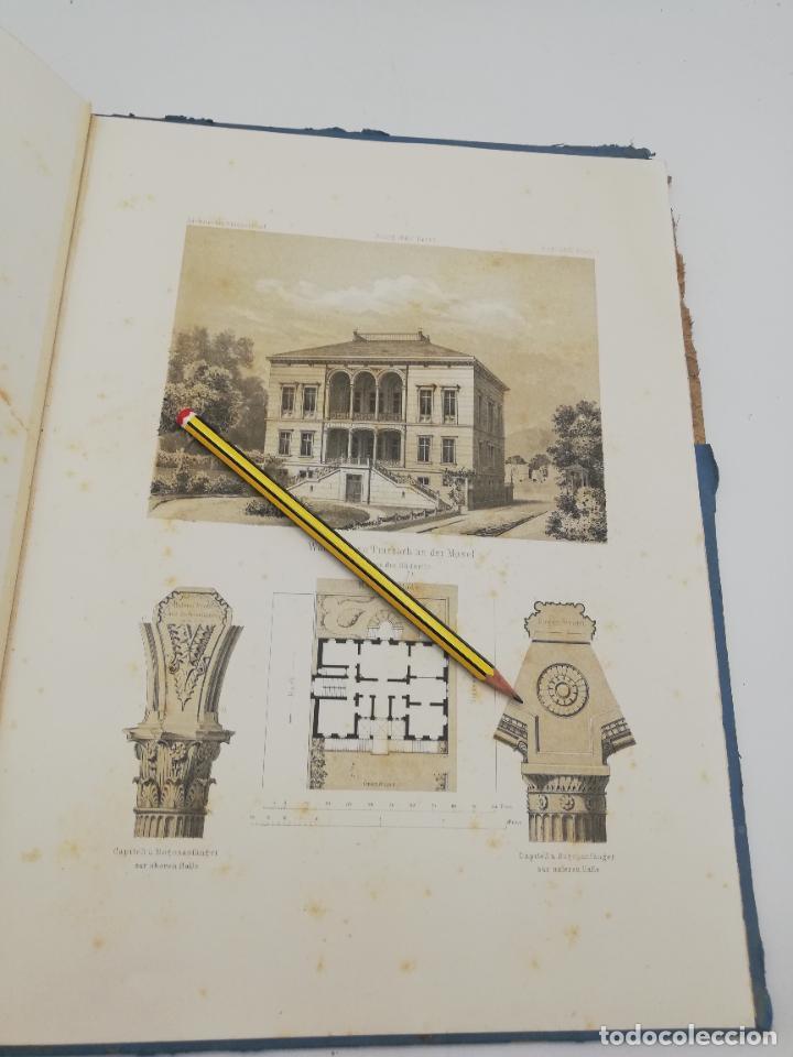 Libros antiguos: L´ARCHITECTURE ALLEMANDE AU XIX SIECLE. RECUELL DE MASIONS DE VILLE ET DE CAMPAGNE. 9 TOMOS.VER.LEER - Foto 160 - 267903714