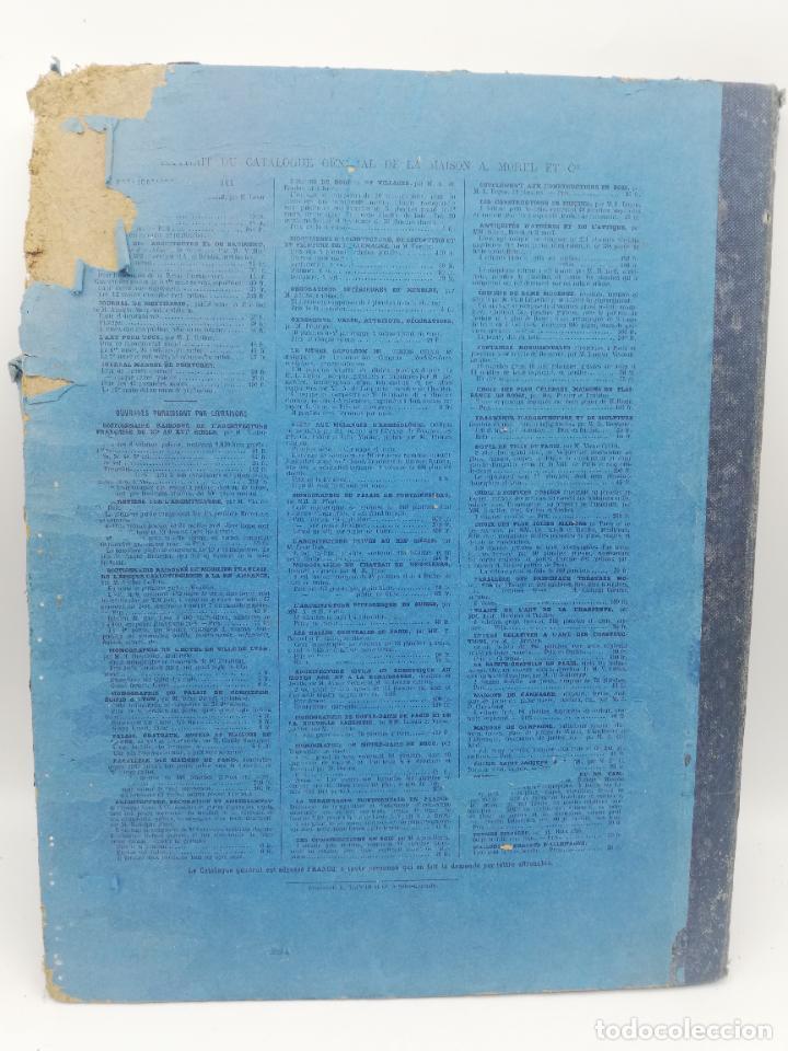Libros antiguos: L´ARCHITECTURE ALLEMANDE AU XIX SIECLE. RECUELL DE MASIONS DE VILLE ET DE CAMPAGNE. 9 TOMOS.VER.LEER - Foto 161 - 267903714