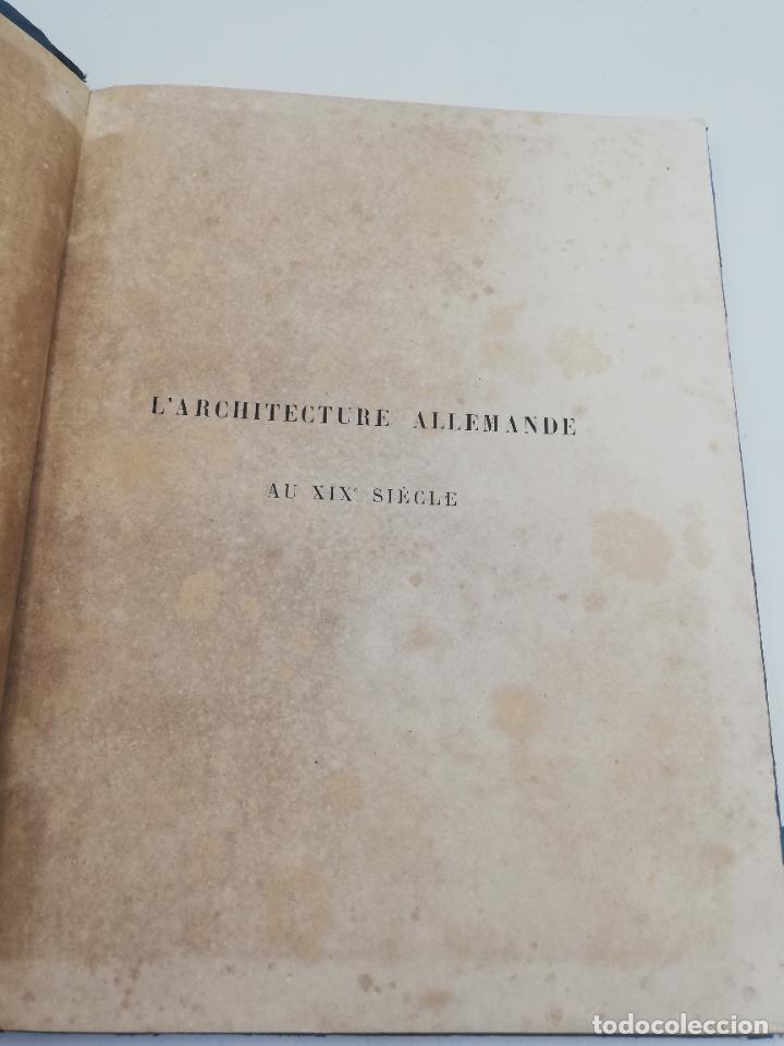 Libros antiguos: L´ARCHITECTURE ALLEMANDE AU XIX SIECLE. RECUELL DE MASIONS DE VILLE ET DE CAMPAGNE. 9 TOMOS.VER.LEER - Foto 164 - 267903714