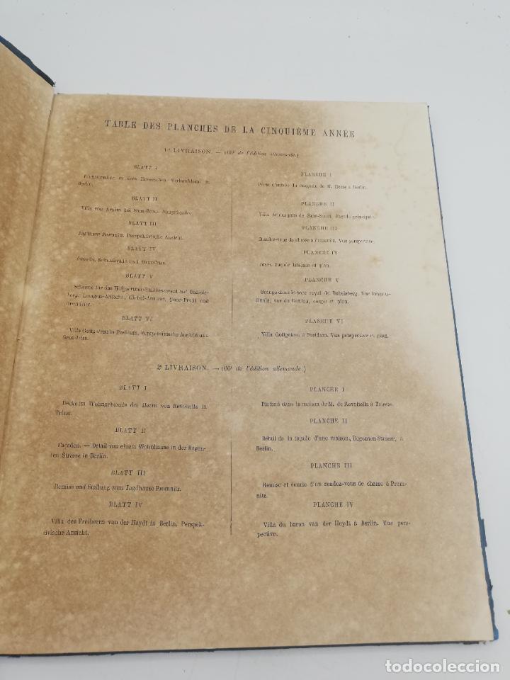 Libros antiguos: L´ARCHITECTURE ALLEMANDE AU XIX SIECLE. RECUELL DE MASIONS DE VILLE ET DE CAMPAGNE. 9 TOMOS.VER.LEER - Foto 166 - 267903714