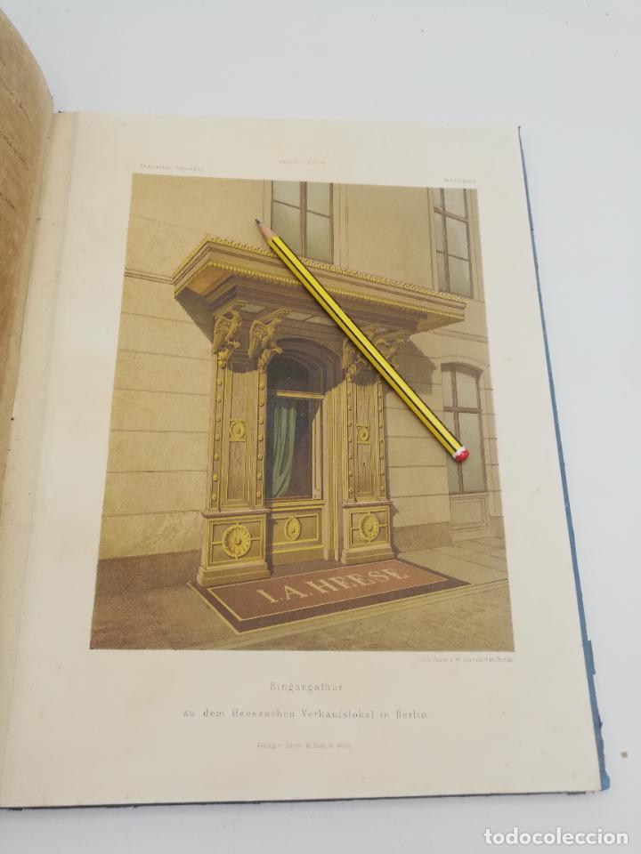 Libros antiguos: L´ARCHITECTURE ALLEMANDE AU XIX SIECLE. RECUELL DE MASIONS DE VILLE ET DE CAMPAGNE. 9 TOMOS.VER.LEER - Foto 167 - 267903714