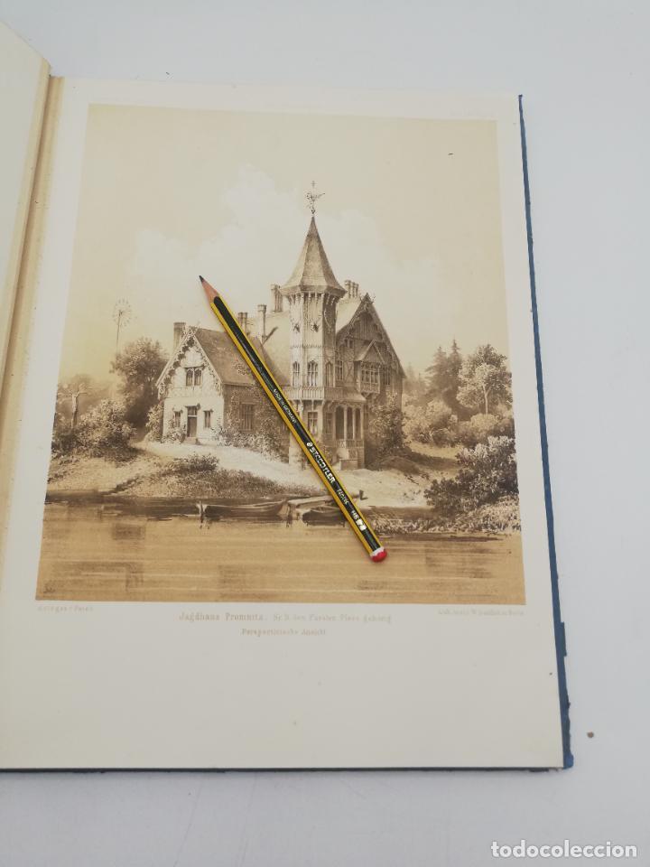 Libros antiguos: L´ARCHITECTURE ALLEMANDE AU XIX SIECLE. RECUELL DE MASIONS DE VILLE ET DE CAMPAGNE. 9 TOMOS.VER.LEER - Foto 169 - 267903714