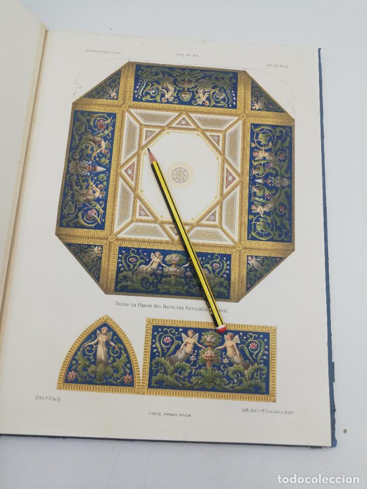 Libros antiguos: L´ARCHITECTURE ALLEMANDE AU XIX SIECLE. RECUELL DE MASIONS DE VILLE ET DE CAMPAGNE. 9 TOMOS.VER.LEER - Foto 173 - 267903714