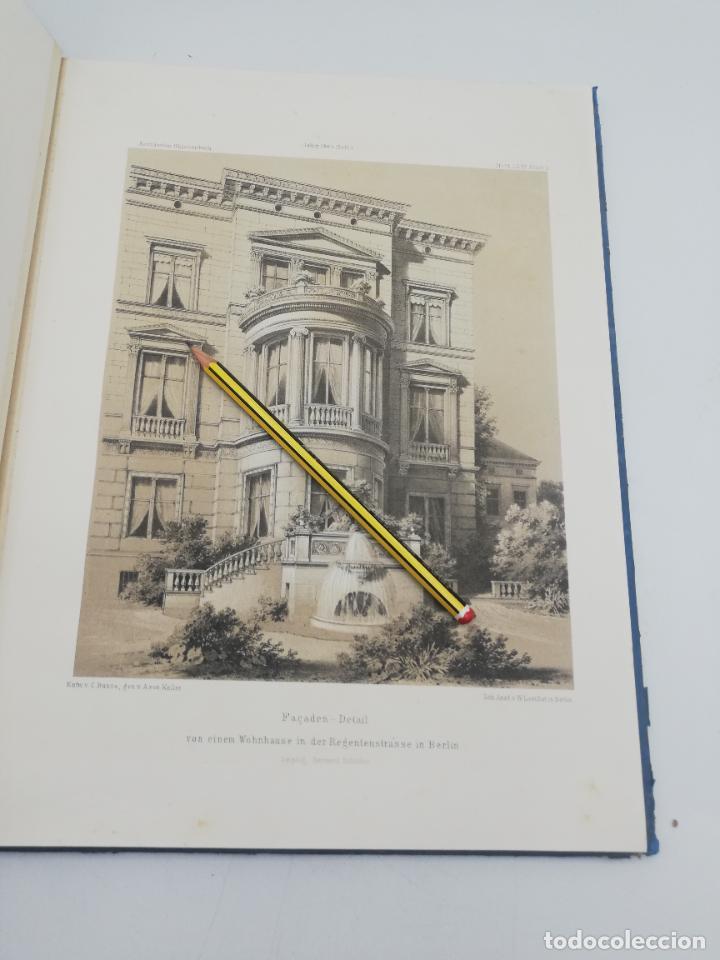 Libros antiguos: L´ARCHITECTURE ALLEMANDE AU XIX SIECLE. RECUELL DE MASIONS DE VILLE ET DE CAMPAGNE. 9 TOMOS.VER.LEER - Foto 174 - 267903714