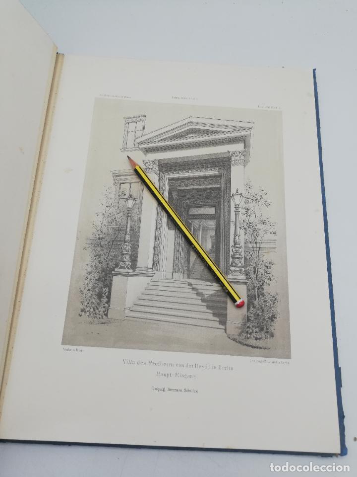 Libros antiguos: L´ARCHITECTURE ALLEMANDE AU XIX SIECLE. RECUELL DE MASIONS DE VILLE ET DE CAMPAGNE. 9 TOMOS.VER.LEER - Foto 177 - 267903714