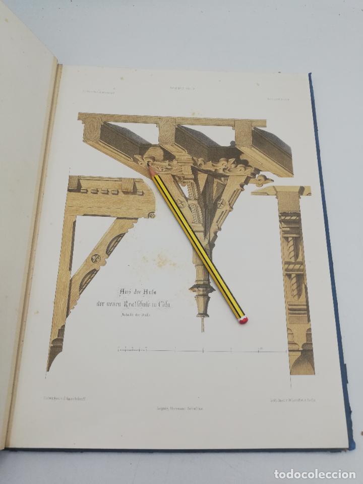 Libros antiguos: L´ARCHITECTURE ALLEMANDE AU XIX SIECLE. RECUELL DE MASIONS DE VILLE ET DE CAMPAGNE. 9 TOMOS.VER.LEER - Foto 178 - 267903714