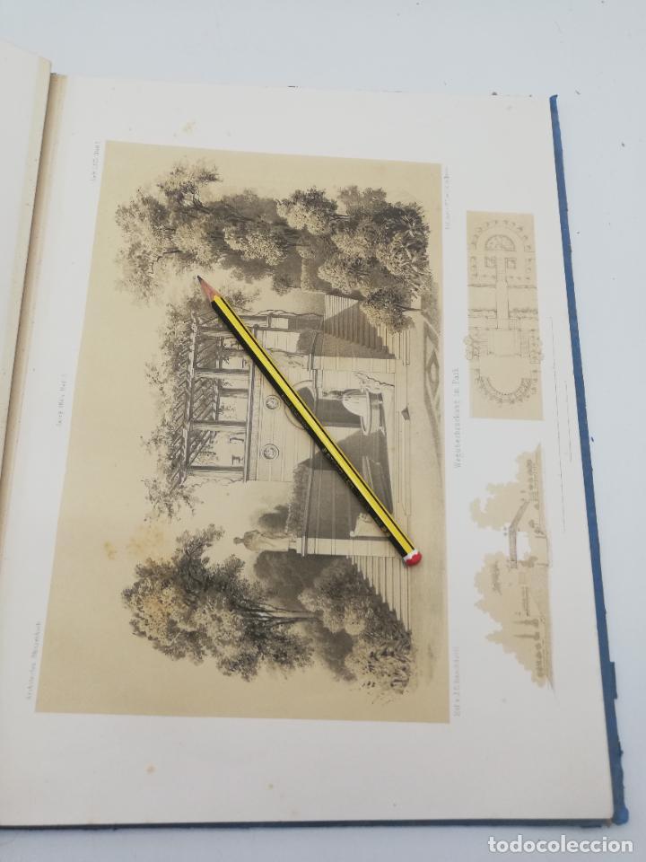 Libros antiguos: L´ARCHITECTURE ALLEMANDE AU XIX SIECLE. RECUELL DE MASIONS DE VILLE ET DE CAMPAGNE. 9 TOMOS.VER.LEER - Foto 181 - 267903714