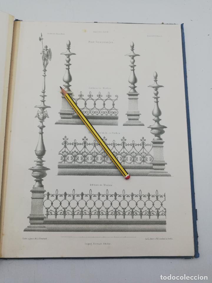Libros antiguos: L´ARCHITECTURE ALLEMANDE AU XIX SIECLE. RECUELL DE MASIONS DE VILLE ET DE CAMPAGNE. 9 TOMOS.VER.LEER - Foto 184 - 267903714