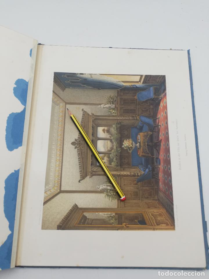 Libros antiguos: L´ARCHITECTURE ALLEMANDE AU XIX SIECLE. RECUELL DE MASIONS DE VILLE ET DE CAMPAGNE. 9 TOMOS.VER.LEER - Foto 185 - 267903714