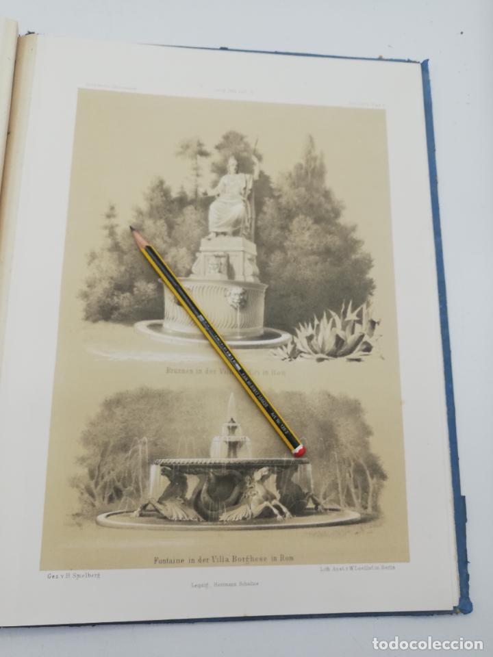 Libros antiguos: L´ARCHITECTURE ALLEMANDE AU XIX SIECLE. RECUELL DE MASIONS DE VILLE ET DE CAMPAGNE. 9 TOMOS.VER.LEER - Foto 189 - 267903714