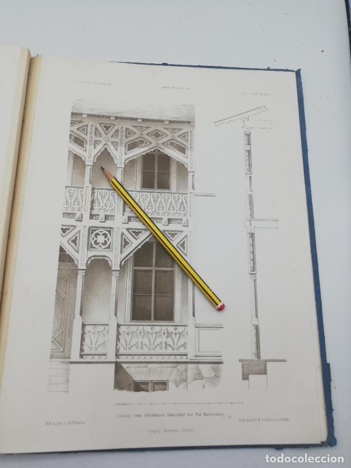 Libros antiguos: L´ARCHITECTURE ALLEMANDE AU XIX SIECLE. RECUELL DE MASIONS DE VILLE ET DE CAMPAGNE. 9 TOMOS.VER.LEER - Foto 190 - 267903714