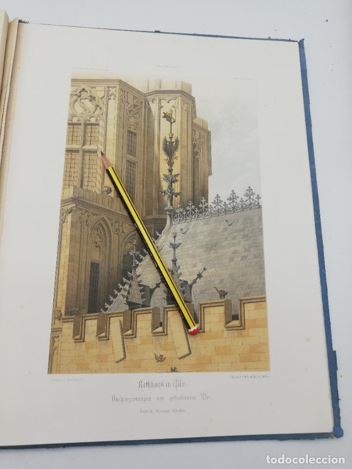 Libros antiguos: L´ARCHITECTURE ALLEMANDE AU XIX SIECLE. RECUELL DE MASIONS DE VILLE ET DE CAMPAGNE. 9 TOMOS.VER.LEER - Foto 191 - 267903714