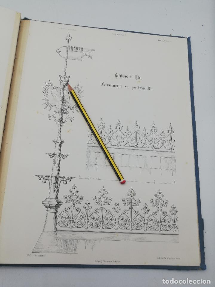 Libros antiguos: L´ARCHITECTURE ALLEMANDE AU XIX SIECLE. RECUELL DE MASIONS DE VILLE ET DE CAMPAGNE. 9 TOMOS.VER.LEER - Foto 192 - 267903714