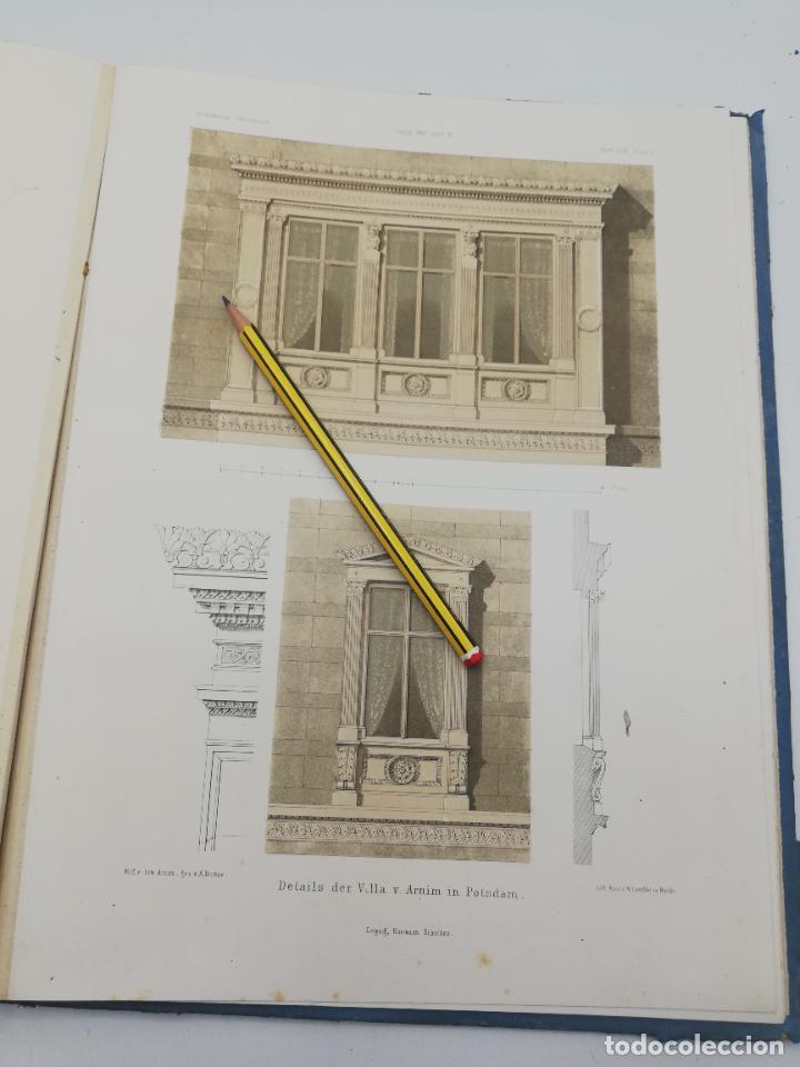 Libros antiguos: L´ARCHITECTURE ALLEMANDE AU XIX SIECLE. RECUELL DE MASIONS DE VILLE ET DE CAMPAGNE. 9 TOMOS.VER.LEER - Foto 194 - 267903714