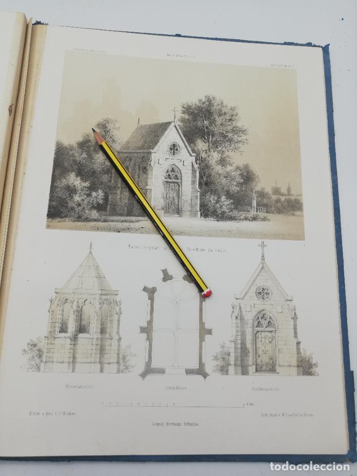 Libros antiguos: L´ARCHITECTURE ALLEMANDE AU XIX SIECLE. RECUELL DE MASIONS DE VILLE ET DE CAMPAGNE. 9 TOMOS.VER.LEER - Foto 195 - 267903714