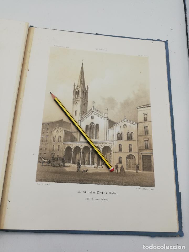 Libros antiguos: L´ARCHITECTURE ALLEMANDE AU XIX SIECLE. RECUELL DE MASIONS DE VILLE ET DE CAMPAGNE. 9 TOMOS.VER.LEER - Foto 196 - 267903714