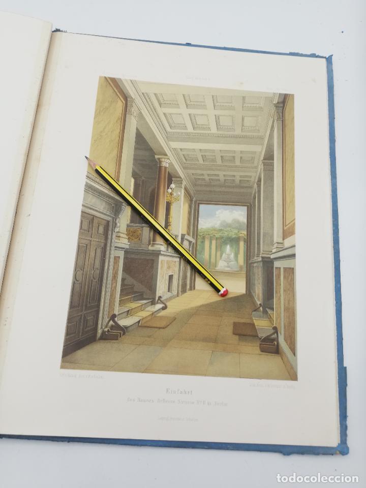 Libros antiguos: L´ARCHITECTURE ALLEMANDE AU XIX SIECLE. RECUELL DE MASIONS DE VILLE ET DE CAMPAGNE. 9 TOMOS.VER.LEER - Foto 197 - 267903714