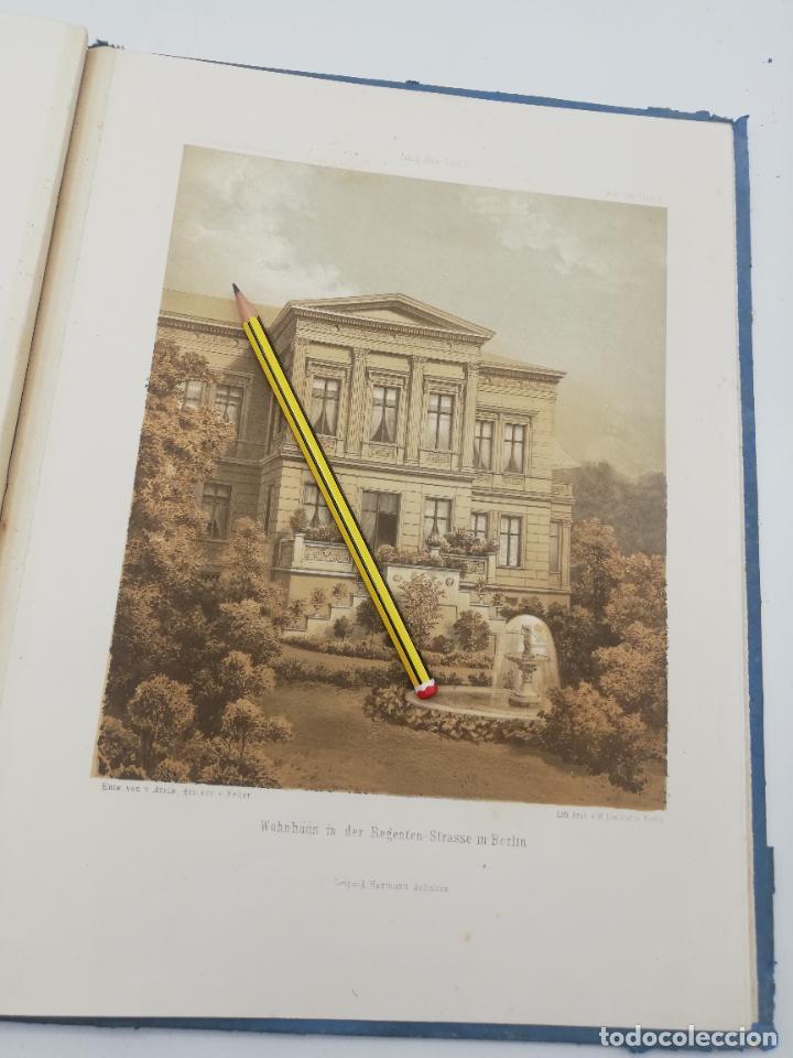Libros antiguos: L´ARCHITECTURE ALLEMANDE AU XIX SIECLE. RECUELL DE MASIONS DE VILLE ET DE CAMPAGNE. 9 TOMOS.VER.LEER - Foto 198 - 267903714