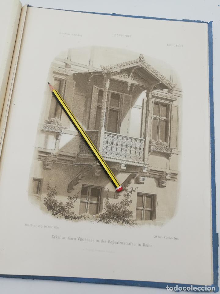 Libros antiguos: L´ARCHITECTURE ALLEMANDE AU XIX SIECLE. RECUELL DE MASIONS DE VILLE ET DE CAMPAGNE. 9 TOMOS.VER.LEER - Foto 199 - 267903714