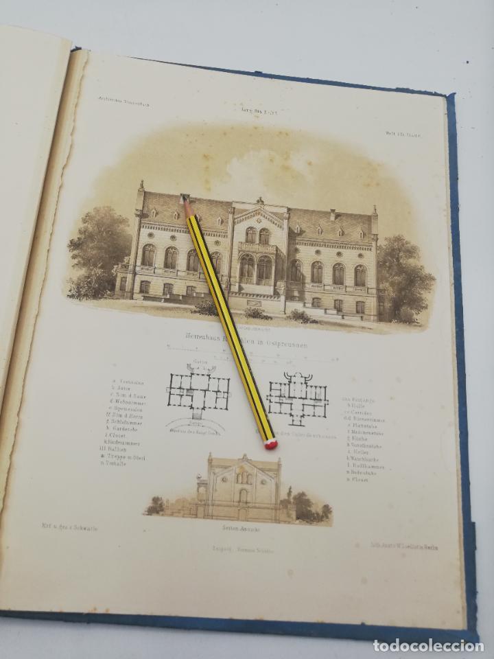 Libros antiguos: L´ARCHITECTURE ALLEMANDE AU XIX SIECLE. RECUELL DE MASIONS DE VILLE ET DE CAMPAGNE. 9 TOMOS.VER.LEER - Foto 201 - 267903714