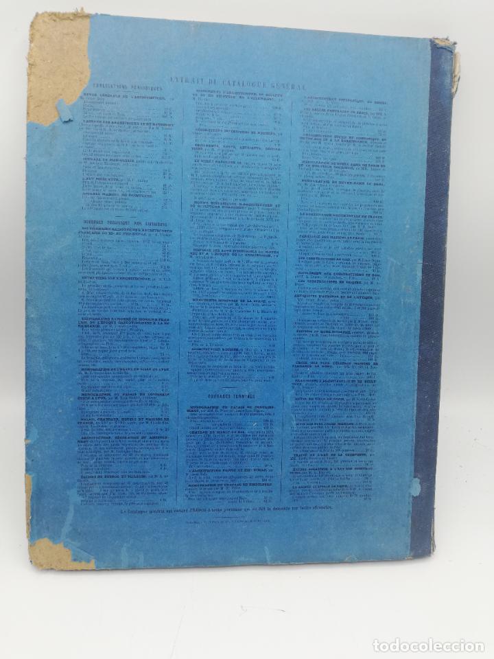 Libros antiguos: L´ARCHITECTURE ALLEMANDE AU XIX SIECLE. RECUELL DE MASIONS DE VILLE ET DE CAMPAGNE. 9 TOMOS.VER.LEER - Foto 202 - 267903714