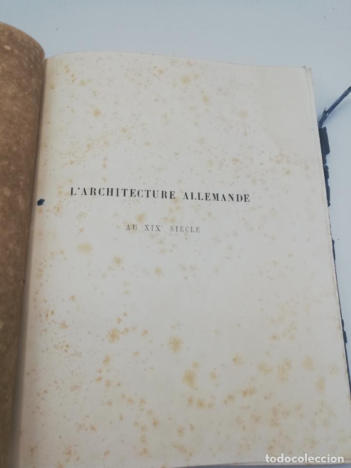 Libros antiguos: L´ARCHITECTURE ALLEMANDE AU XIX SIECLE. RECUELL DE MASIONS DE VILLE ET DE CAMPAGNE. 9 TOMOS.VER.LEER - Foto 205 - 267903714