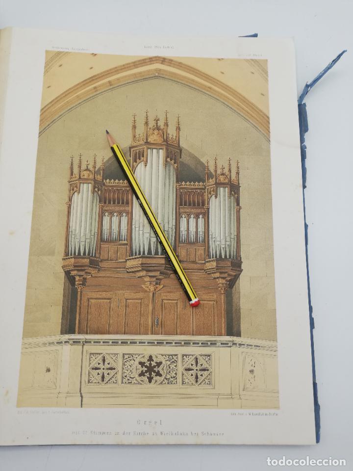 Libros antiguos: L´ARCHITECTURE ALLEMANDE AU XIX SIECLE. RECUELL DE MASIONS DE VILLE ET DE CAMPAGNE. 9 TOMOS.VER.LEER - Foto 208 - 267903714