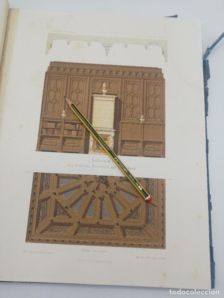 Libros antiguos: L´ARCHITECTURE ALLEMANDE AU XIX SIECLE. RECUELL DE MASIONS DE VILLE ET DE CAMPAGNE. 9 TOMOS.VER.LEER - Foto 209 - 267903714