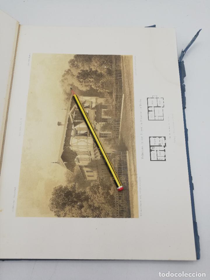 Libros antiguos: L´ARCHITECTURE ALLEMANDE AU XIX SIECLE. RECUELL DE MASIONS DE VILLE ET DE CAMPAGNE. 9 TOMOS.VER.LEER - Foto 212 - 267903714