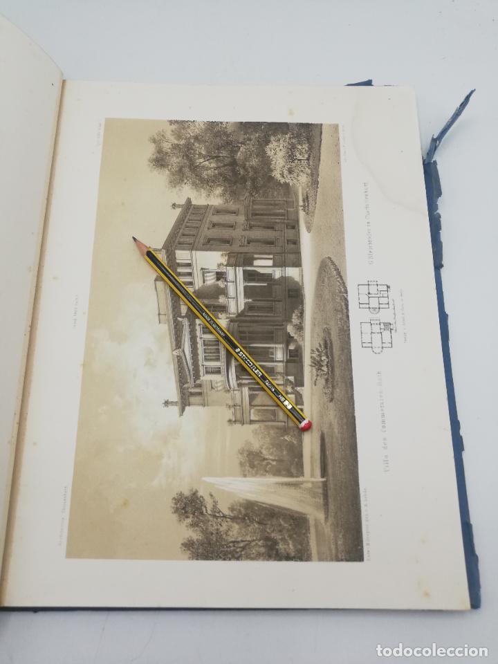 Libros antiguos: L´ARCHITECTURE ALLEMANDE AU XIX SIECLE. RECUELL DE MASIONS DE VILLE ET DE CAMPAGNE. 9 TOMOS.VER.LEER - Foto 215 - 267903714