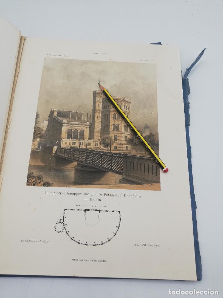 Libros antiguos: L´ARCHITECTURE ALLEMANDE AU XIX SIECLE. RECUELL DE MASIONS DE VILLE ET DE CAMPAGNE. 9 TOMOS.VER.LEER - Foto 216 - 267903714