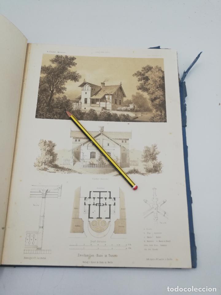 Libros antiguos: L´ARCHITECTURE ALLEMANDE AU XIX SIECLE. RECUELL DE MASIONS DE VILLE ET DE CAMPAGNE. 9 TOMOS.VER.LEER - Foto 217 - 267903714