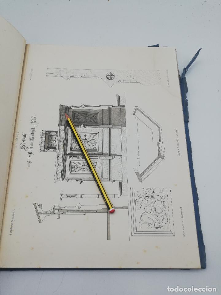 Libros antiguos: L´ARCHITECTURE ALLEMANDE AU XIX SIECLE. RECUELL DE MASIONS DE VILLE ET DE CAMPAGNE. 9 TOMOS.VER.LEER - Foto 218 - 267903714