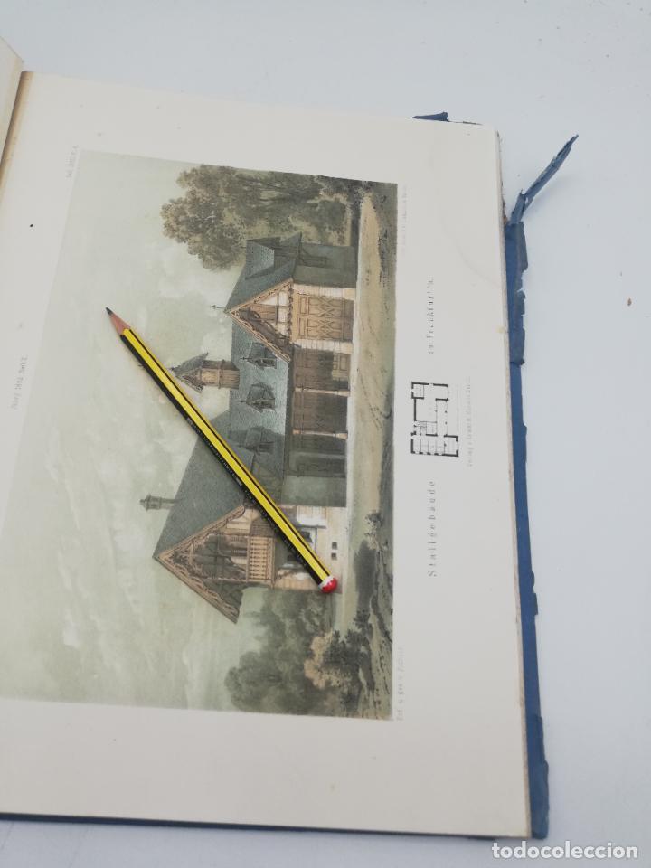 Libros antiguos: L´ARCHITECTURE ALLEMANDE AU XIX SIECLE. RECUELL DE MASIONS DE VILLE ET DE CAMPAGNE. 9 TOMOS.VER.LEER - Foto 221 - 267903714