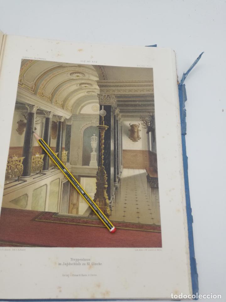 Libros antiguos: L´ARCHITECTURE ALLEMANDE AU XIX SIECLE. RECUELL DE MASIONS DE VILLE ET DE CAMPAGNE. 9 TOMOS.VER.LEER - Foto 223 - 267903714