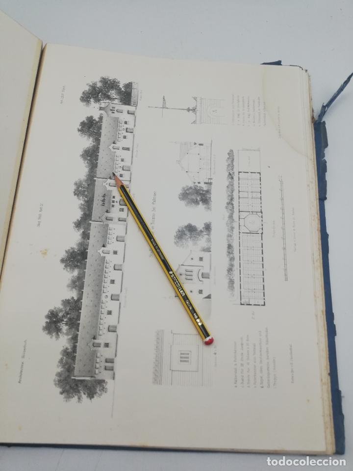 Libros antiguos: L´ARCHITECTURE ALLEMANDE AU XIX SIECLE. RECUELL DE MASIONS DE VILLE ET DE CAMPAGNE. 9 TOMOS.VER.LEER - Foto 226 - 267903714