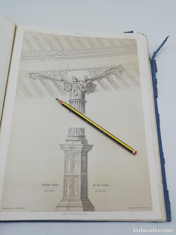 Libros antiguos: L´ARCHITECTURE ALLEMANDE AU XIX SIECLE. RECUELL DE MASIONS DE VILLE ET DE CAMPAGNE. 9 TOMOS.VER.LEER - Foto 227 - 267903714