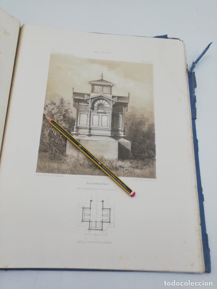 Libros antiguos: L´ARCHITECTURE ALLEMANDE AU XIX SIECLE. RECUELL DE MASIONS DE VILLE ET DE CAMPAGNE. 9 TOMOS.VER.LEER - Foto 228 - 267903714