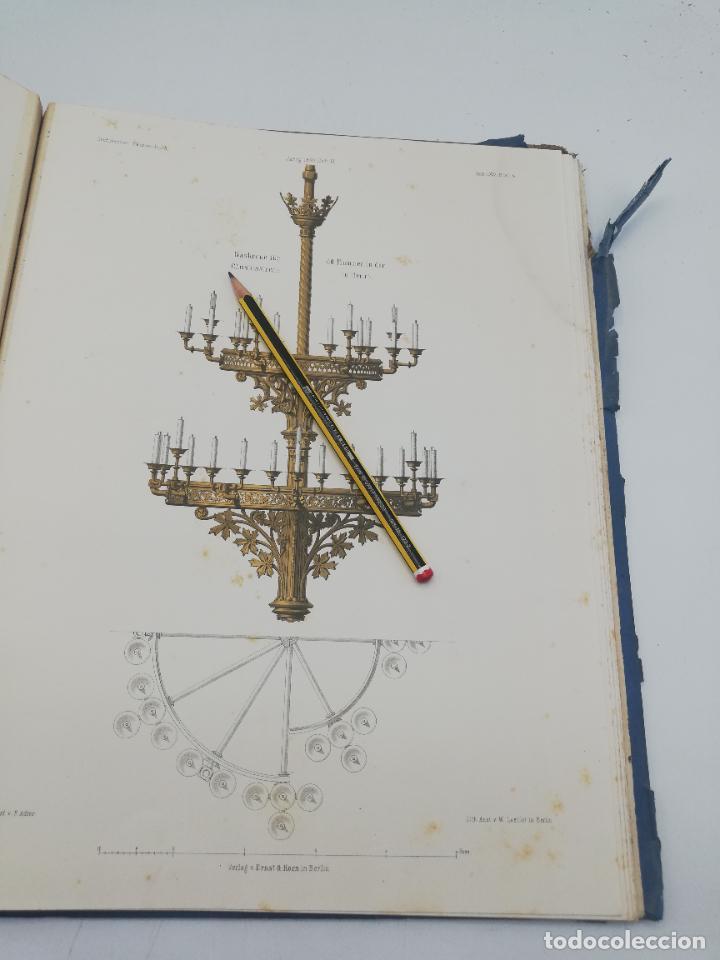 Libros antiguos: L´ARCHITECTURE ALLEMANDE AU XIX SIECLE. RECUELL DE MASIONS DE VILLE ET DE CAMPAGNE. 9 TOMOS.VER.LEER - Foto 230 - 267903714