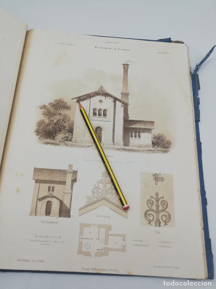 Libros antiguos: L´ARCHITECTURE ALLEMANDE AU XIX SIECLE. RECUELL DE MASIONS DE VILLE ET DE CAMPAGNE. 9 TOMOS.VER.LEER - Foto 232 - 267903714
