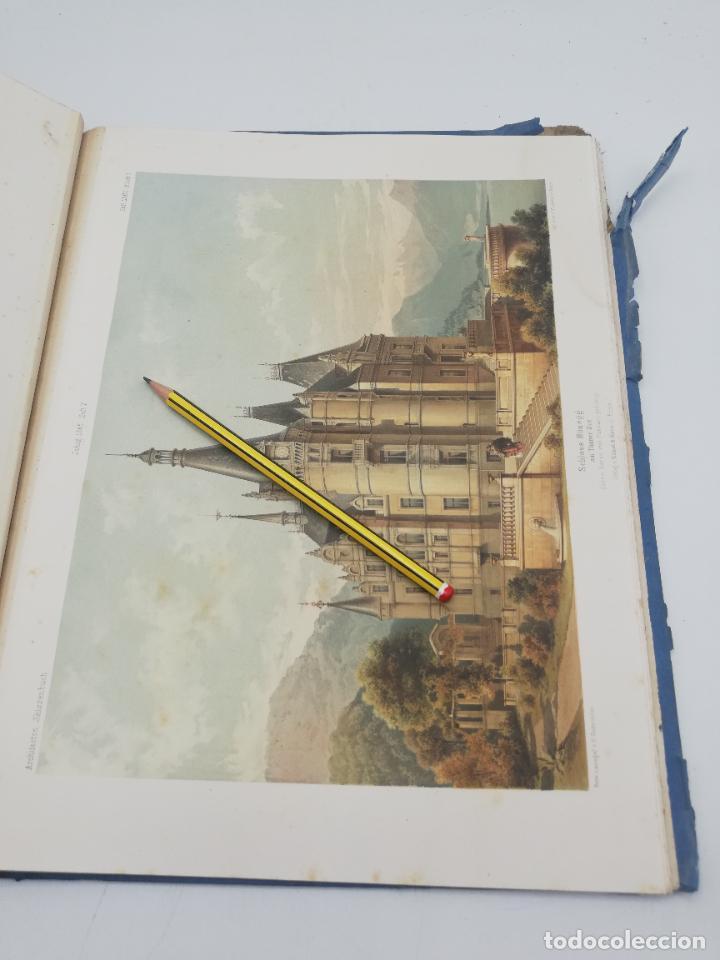 Libros antiguos: L´ARCHITECTURE ALLEMANDE AU XIX SIECLE. RECUELL DE MASIONS DE VILLE ET DE CAMPAGNE. 9 TOMOS.VER.LEER - Foto 233 - 267903714